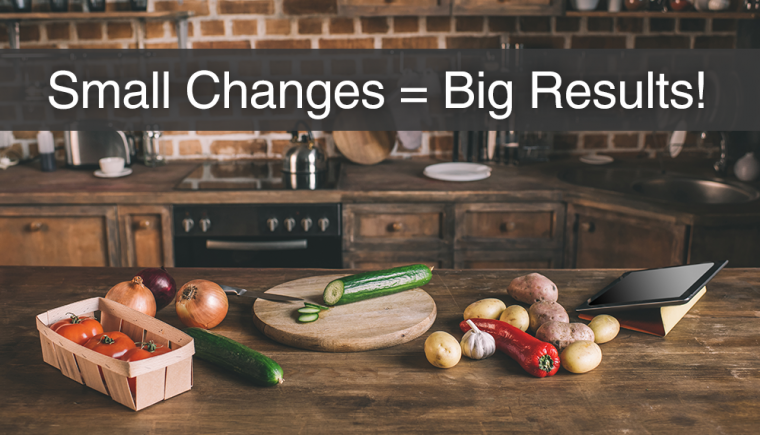 12 Small Nutrition Changes