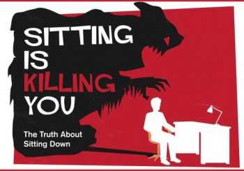 How Sitting is Killing You (INFOGRAPHIC)